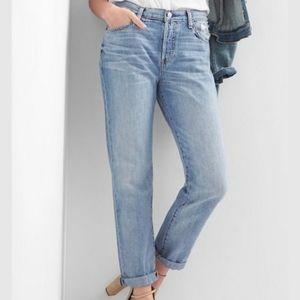 Gap 1969 Boyfriend Jeans Sz 10 Straight Leg